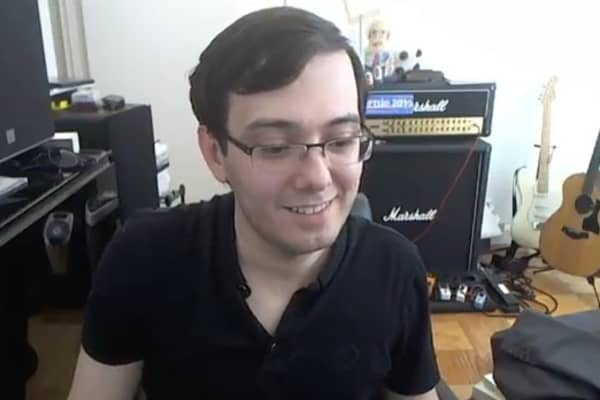Martin Shkreli on YouTube after the receiving three out of eight guilty verdicts on Aug. 4th, 2017.