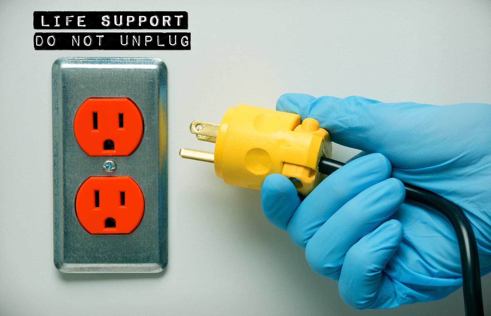 Photo of Pull the plug