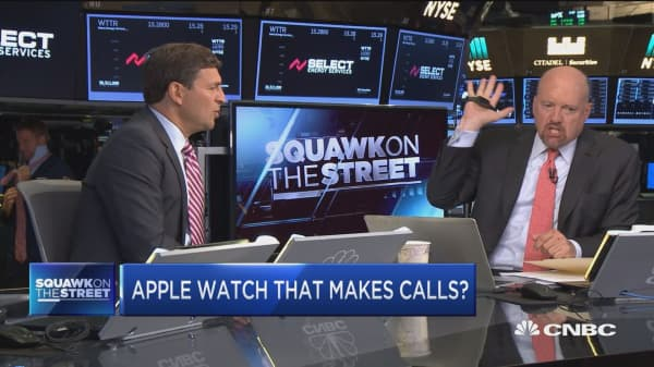 Apple watch that can make calls? It's a game changer: Jim Cramer