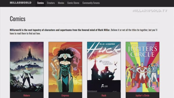 Netflix's first acquisition is a comic book company