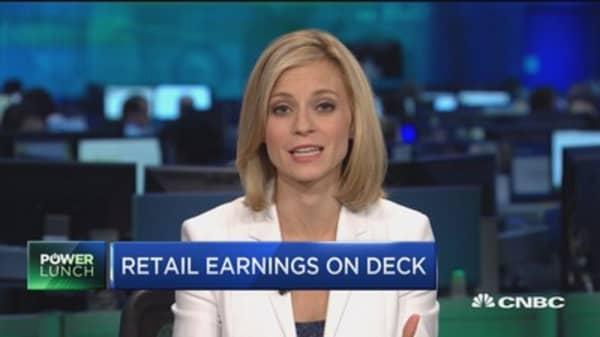 Major retailers set to report earnings this week