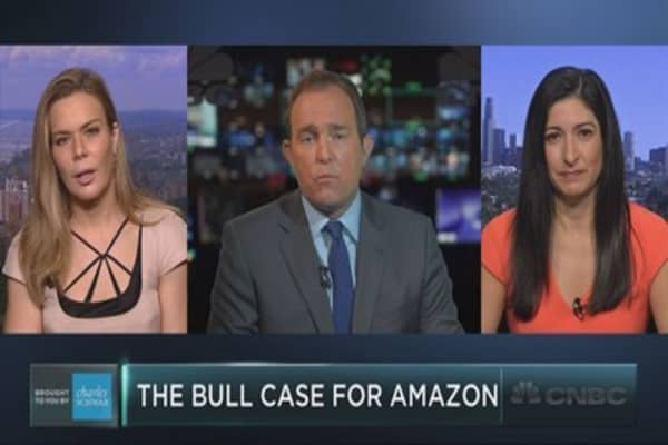 Should investors buy Amazon on the dip?