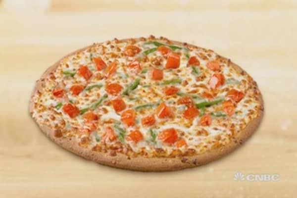 Papa John's has made a gluten-free pizza that gluten-intolerant diners can't eat