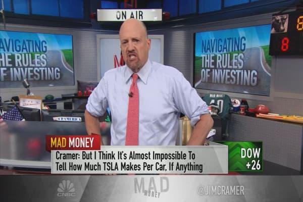 Cramer reveals 3 stocks that defy the idea of 'doing your homework'