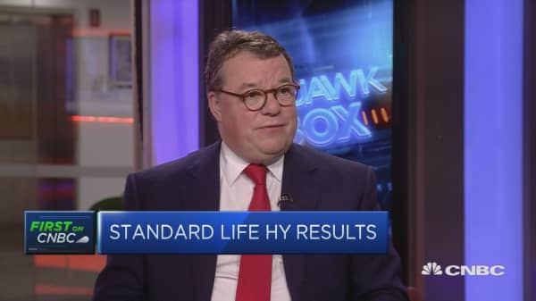 Increased diversification of our flows: Standard Life CEO