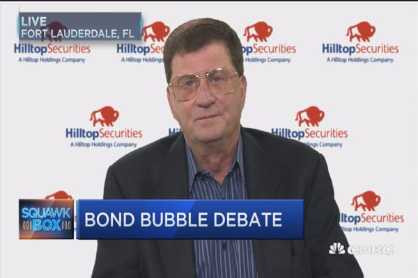 Greenspan's all wrong about bond bubble. Here's why: Hilltop Securities' Mark Grant
