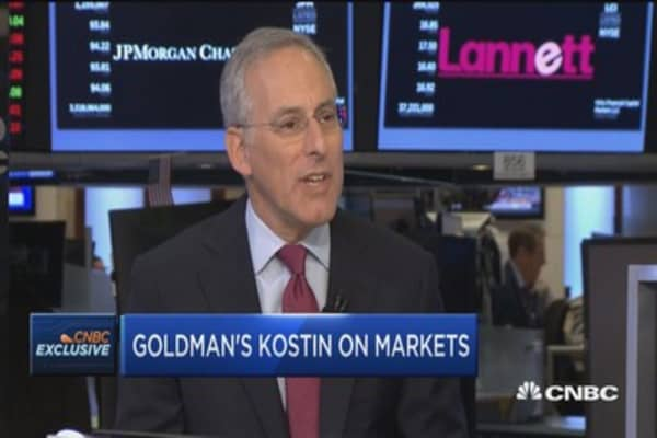 Goldman Sachs' David Kostin: Here's why financials are set to outperform