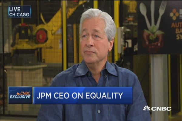 Jamie Dimon: I'm proud of what we've done for gender equality