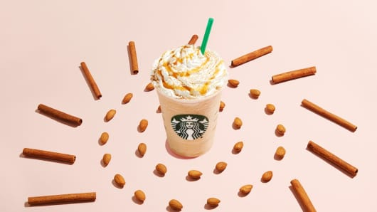 Starbucks's new Horchata Almondmilk Frappuccino