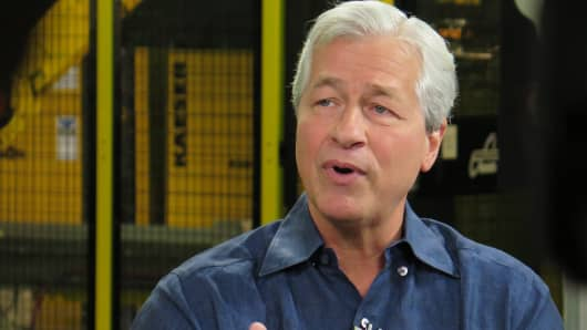 Jamie Dimon, CEO of JP Morgan Chase.