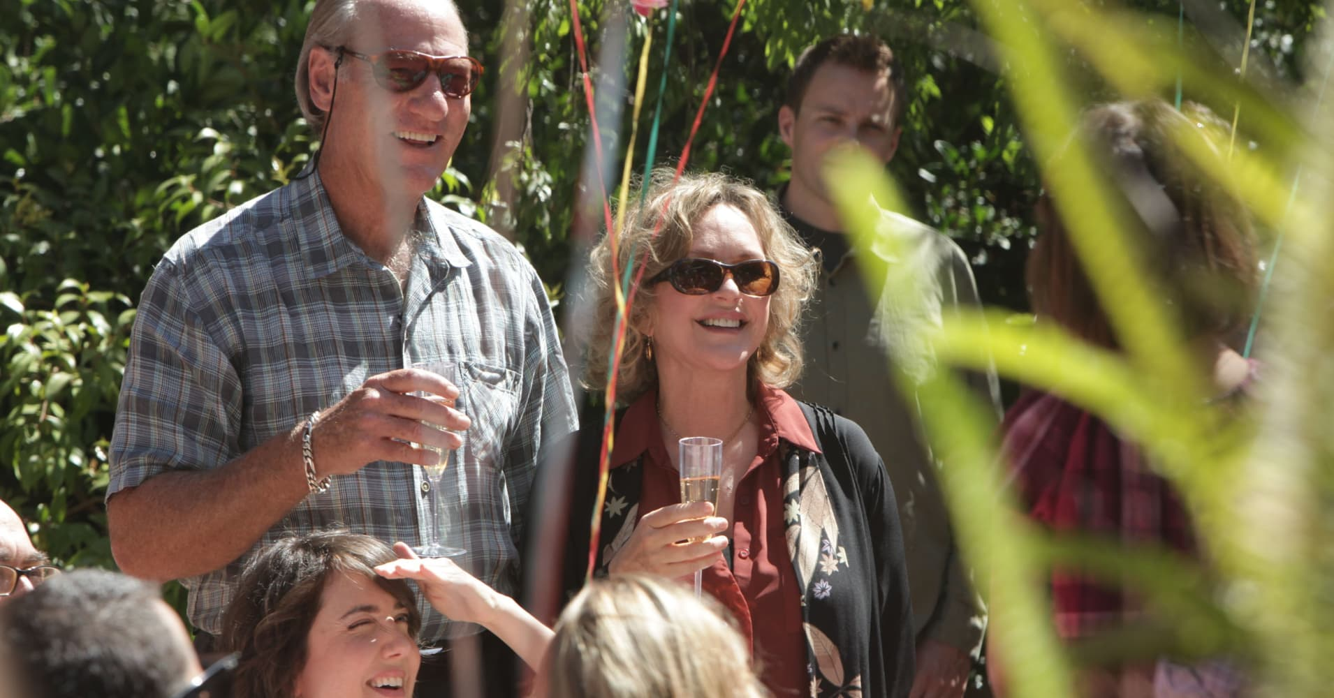 "Zeek Braverman and Camille Braverman, the grandparents on NBC's ""Parenthood"""