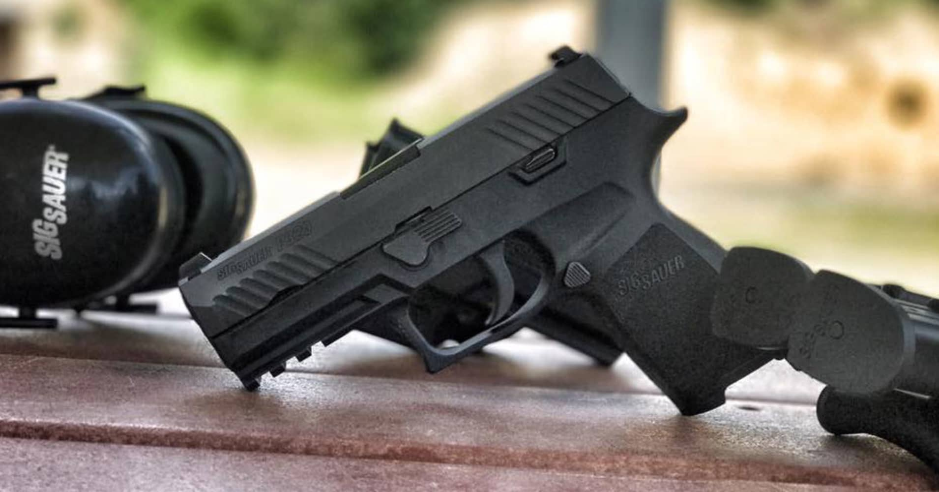 Sig Sauer offers 'voluntary upgrade' of P320 pistol that can