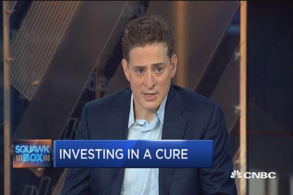 Jonathan Silverstein on funding the fight against Parkinson's