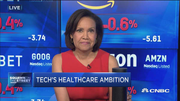 Tech's healthcare ambition