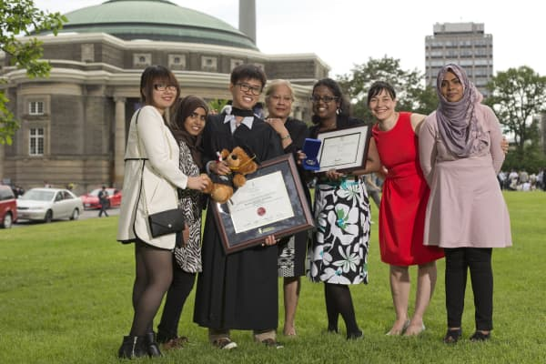 International student Anh Cao was the University of Toronto valedictorian for the class of 2015.