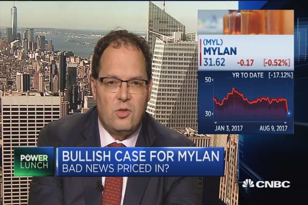 There's more upside than downside for Mylan: Analyst