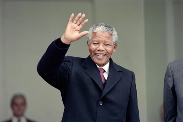 Nelson Mandela served as president of South Africa from 1994 to 1999