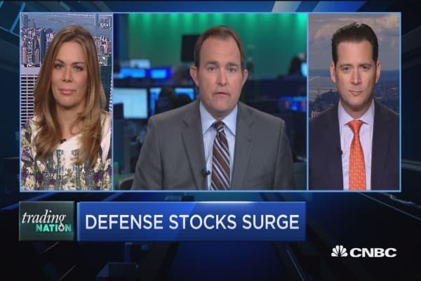 Trading Nation: Defense stocks surge