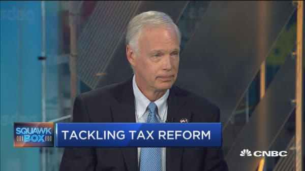 Sen. Ron Johnson: We do not have a globally competitive tax system