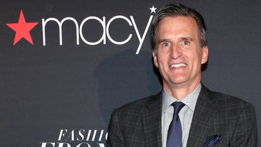 Jeff Gennette, CEO of Macy's.