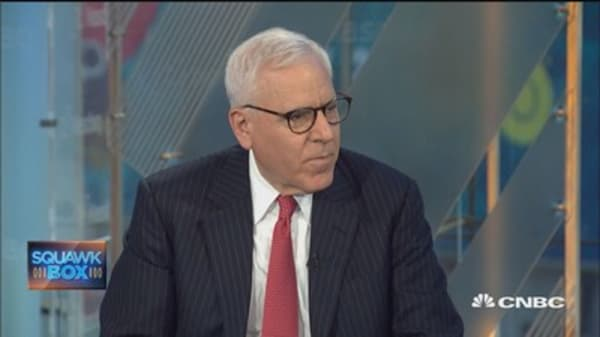David Rubenstein: Jamie Dimon would be a good president
