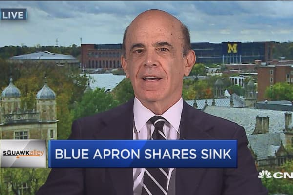 I think they have some business model problems that are going to plague them: Professor on Blue Apron