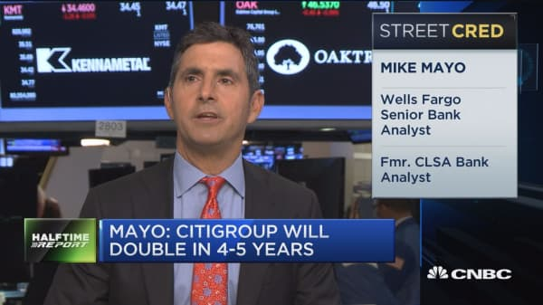 Wells Fargo's Mike Mayo: Banks has strongest balance sheets in a generation