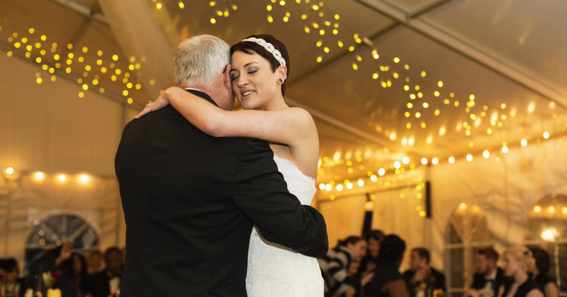 Wedded: Mary Gilliam and Andrew Norman had a farm-style wedding