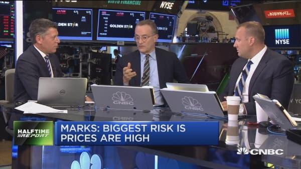 Billionaire investor Howard Marks: Passive investing making certain tech stocks a 'dangerous place'