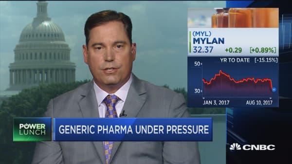 Robust competitive market is at risk: Generic Drug Industry Association's Chip Davis