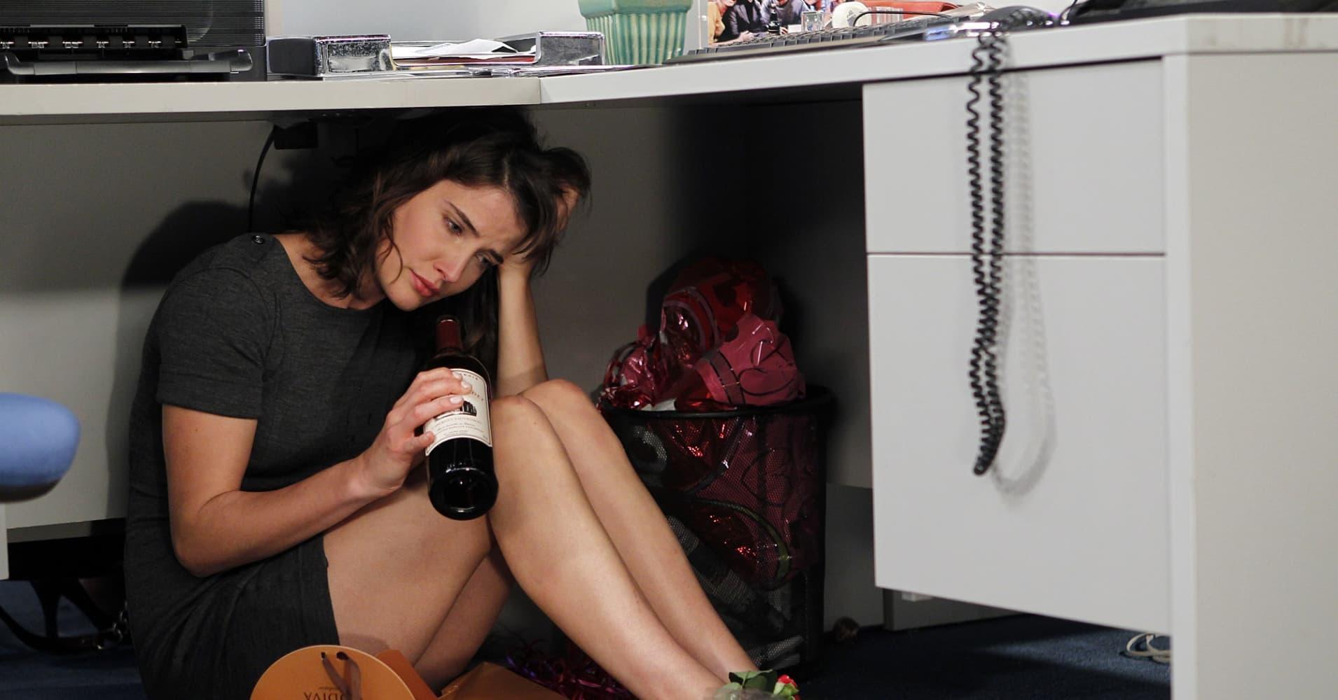 Cobie Smulders as Robin Scherbatsky in How I Met Your Mother