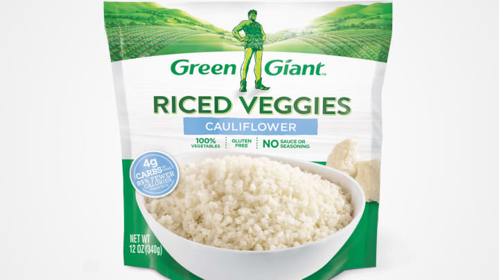 Green Giant Riced Veggies.