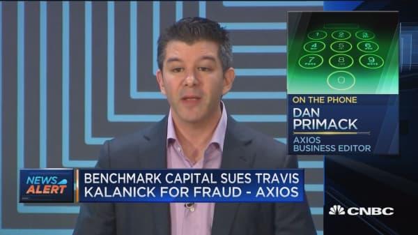 Benchmark Capital Sues Travis Kalanick for fraud