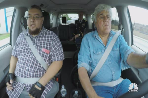 Jay Leno has a big surprise for this disabled veteran