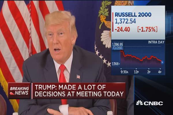 Trump: I would like to 'de-nuke' the world