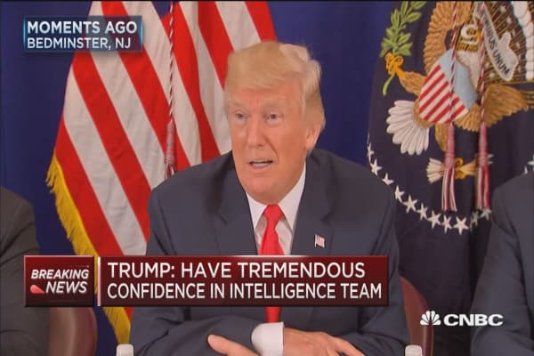 Trump: I haven't given any thought to dismissing Mueller