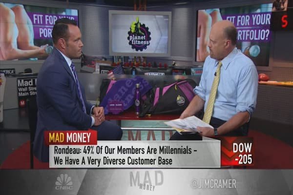 Planet Fitness CEO says his 10-million-member franchise runs on being a 'marketing machine'