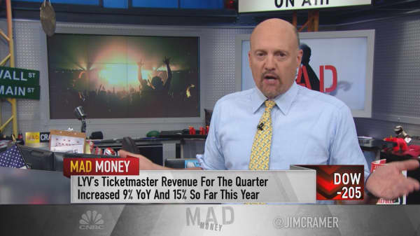 Cramer pinpoints what Live Nation's earnings report revealed about consumer habits
