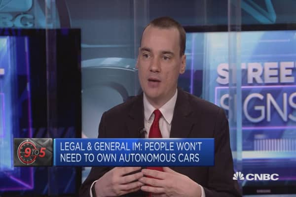 Legal & General IM: People won't need to own driverless cars