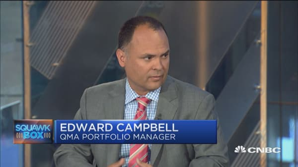 This could be the catalyst for the expected meaningful pullback: QMA's Ed Campbell