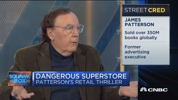 James Patterson: This is the era of megalomaniacs