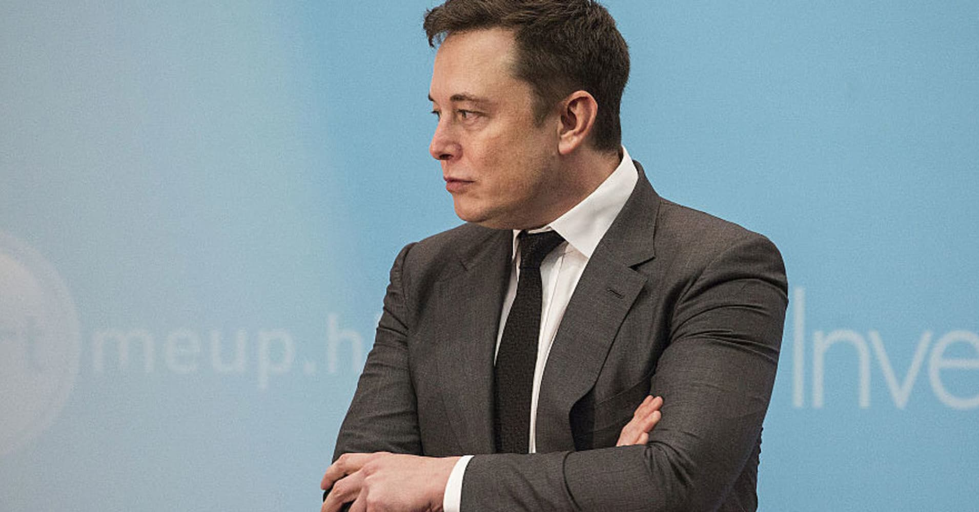 Elon Musk, CEO of SpaceX and Tesla
