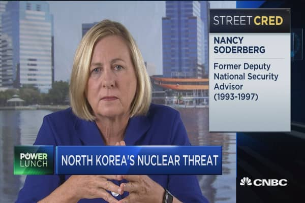 The President is making it up as he goes along: Nancy Soderberg on North Korea tensions