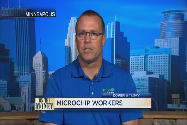 Microchipping employees