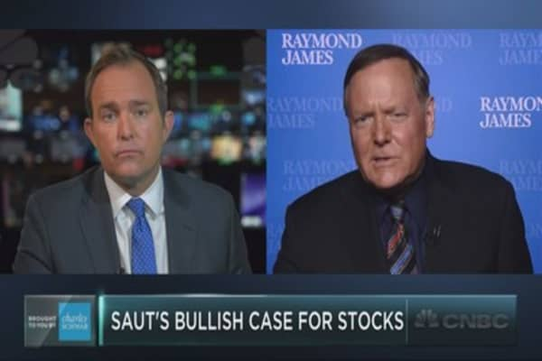The full interview with Jeff Saut of Raymond James