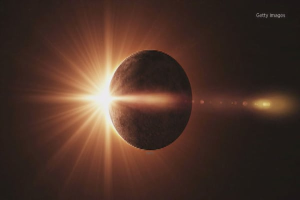 Towns in the path of the eclipse hope it will shine on bottom line