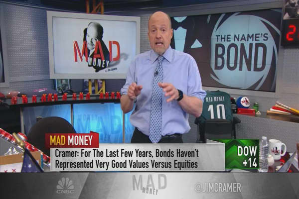 Cramer makes the bull case for including bonds in your portfolio