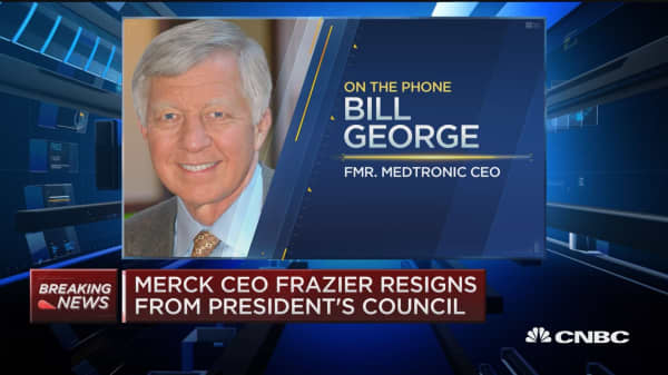 Bill George: Extremely disappointed Trump didn't agree with Frazier