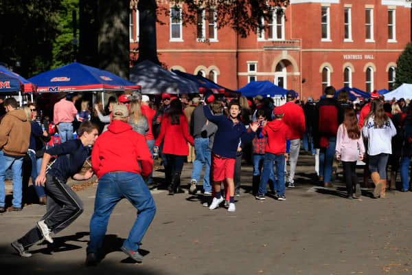 University of Mississippi tailgate