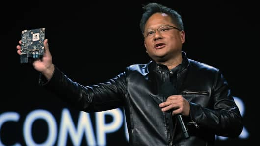 Nvidia Founder, President and CEO Jen-Hsun Huang.